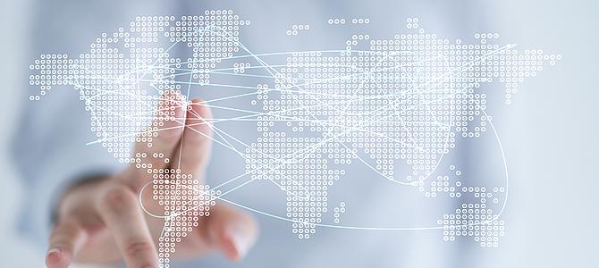 Durch die Internationalisierung neue Märkte sichern