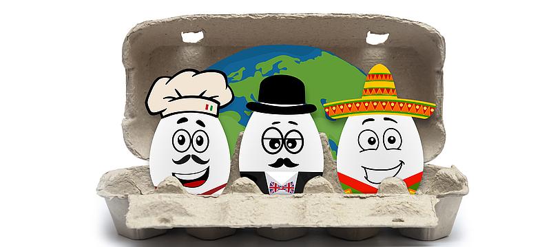 Ostern rund um die Welt