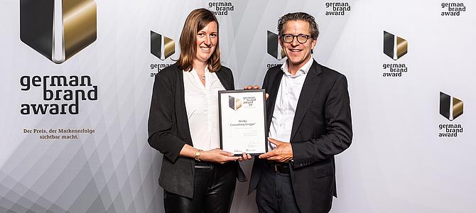 WCG erneut mit German Brand Award ausgezeichnet