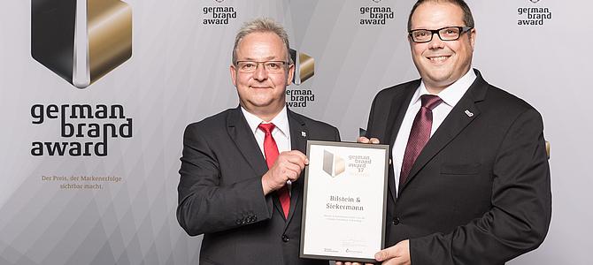 Bilstein & Siekermann® – Preisträger beim German Brand Award