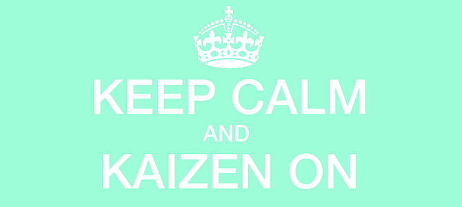 How the Kaizen philosophy applies to my job as a web designer