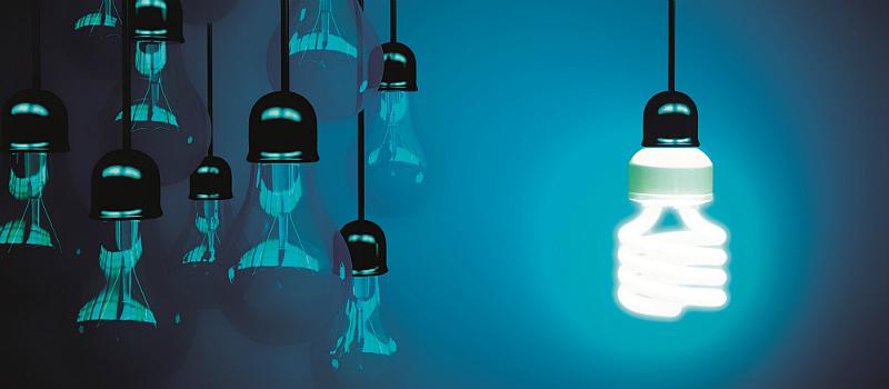 Innovationen erhalten die Wettbewerbsfähigkeit. Innovation in der Elektroindustrie.