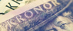 Schwedische Kronen Geldscheine