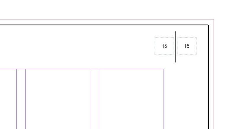Seitenzahlen Schritt 1