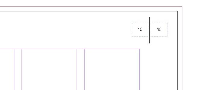 Adobe InDesigns Basics - Automatische Seitenzahlen auf einer Seite